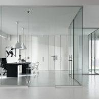 Door glass design