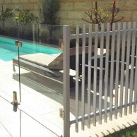 Glass pool fence Melbourne